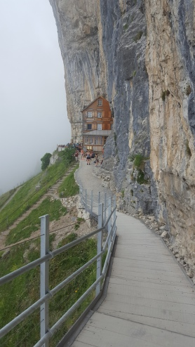 Restaurant on a cliff- Berghause Aschaer